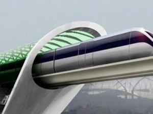 Mermi Tren Hyperloop ilk testinde başarılı oldu