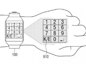 Samsung dokunmatiği bileğe getiriyor