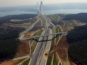 3.Köprü ve Kuzey Marmara Otoyolunun geçiş ücreti belli oldu