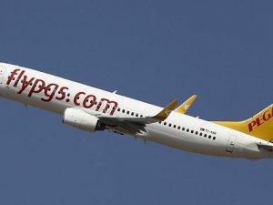 Pegasus uçağı kapaksız uçtu