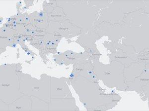 Facebook canlı yayınları gösteren harita yayınladı
