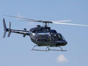 Bulgaristan'da helikopter düştü