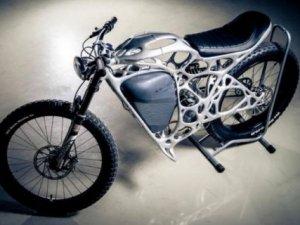 İşte dünyanın ilk 3D baskılı motosikleti: Light Rider