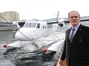 Bursa'da deniz uçağı seferleri iki aydır yapılmıyor