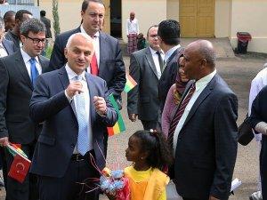 THY'den Etiyopya'ya sağlık desteği