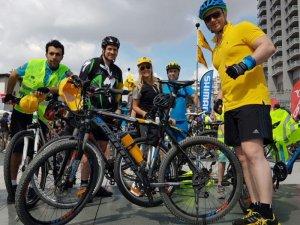 MSC grubu bisiklet gönüllüleri çevre için pedal çevirdi