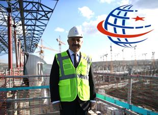 Bakan Arslan, 3. Havalimanı inşaatında incelemelerde bulundu
