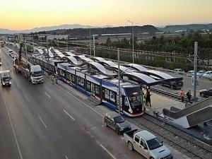Antalya'da Havalimanı-EXPO tramvay seferleri başladı
