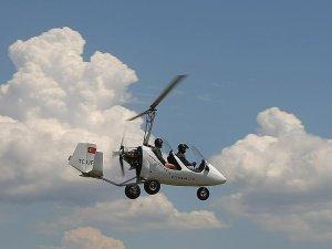 Havacılık tutkunlarının 'gyrocopter' ilgisi