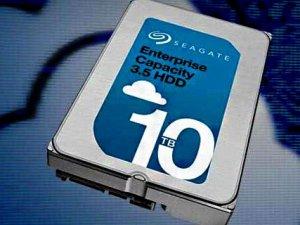 Seagate'in 10TB'lık diski satışa hazır
