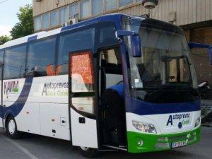 Temsa MD7 araçlar Sırbistan yollarında