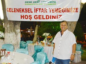 Denizcilik sektörü temsilcileri GEMİSANDER'in iftar yemeğinde buluştu
