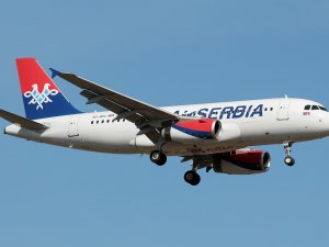 Belgrad'dan New York'a ilk uçuş yapıldı