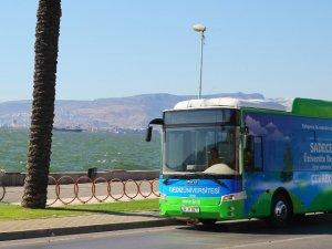 Çevreci kampüse çevreci otobüs
