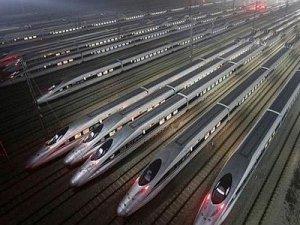 Çin 2 ayda, 560 milyon yolcunun demiryolunu kullanmasını bekliyor