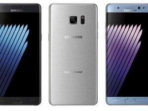 Samsung Galaxy Note 7, üç renkle çıkacak