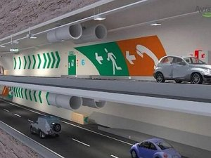 Avrasya Tüneli 26 Aralık'ta hizmete açılıyor