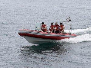 Ambarlı Limanı açıklarında tekne battı