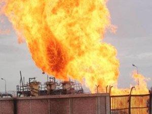 İran'da petrokimya tesisinde yangın çıktı!