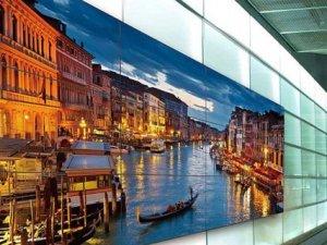 Panasonic'ten ultra ince kenarlı video duvarı