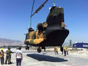 İlk Chinook CH-47F helikopteri TSK'ya teslim edildi
