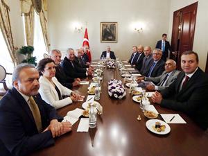 Başbakan Binali Yıldırım, İMEAK Deniz Ticaret Odası Yönetim Kurulu'nu kabul etti