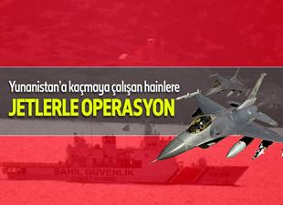 Türk uçakları 2 Türk SGK botuna operasyon düzenliyor