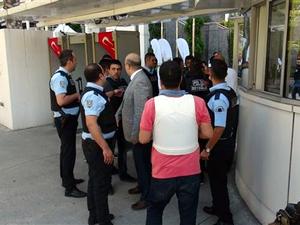 İstanbul Sütlüce'de hareketli dakikalar