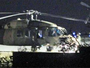 Cumhurbaşkanı Erdoğan, Marmaris'ten ışıkları kapatılmış helikopterle gitmiş