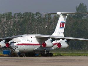 Air Koryo uçağında yangın paniği