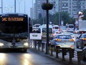 İstanbul'da toplu taşıma çarşamba gecesine kadar ücretsiz