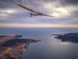 Solar Impulse 2 dünya turunu tamamlıyor