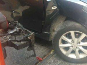 Moda'da tramvay kazası