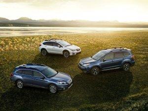 Subaru'ya ödül yağmuru