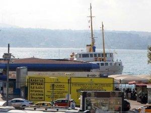 Kabataş İskelesi bugünden itibaren iki yıl boyunca deniz trafiğine kapalı