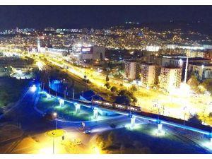 Samsun'da Tekkeköy Raylı Sistem Hattı'nda test sürüşleri başladı