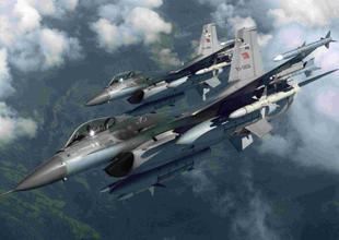 F-16 savaş uçağı acil emirle havalandı