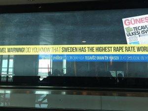 Atatürk Havalimanı'nda 'İsveç uyarısı' ilanı