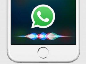 WhatsApp, Siri ile kontrol edilebilecek