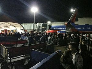 Los Angeles Havalimanı boşaltıldı