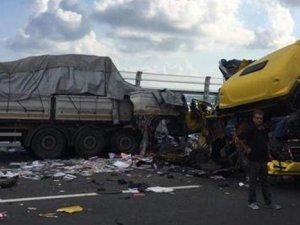 Yavuz Sultan Selim Köprüsü'nde ilk kaza: 1 ölü