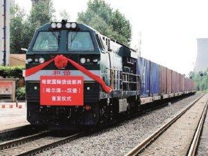 İlk kargo treni İpek Yolu'nda