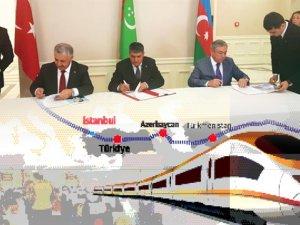 Türkiye Pekin'den Londra'ya hızlı tren ulaşım koridoru için imzayı attı