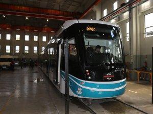 Kocaeli'nin tramvayları da Bursa'da üretiliyor