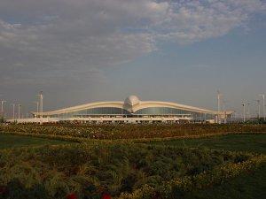 Aşkabat Havalimanı açıldı