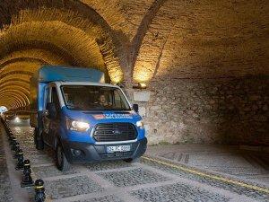 Beylerbeyi Sarayı Tüneli yeniden trafiğe açıldı