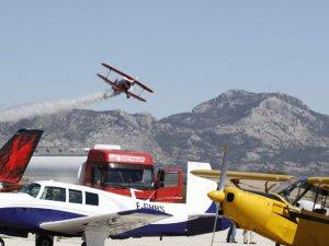 Havacılar Karain'de bir araya geldi