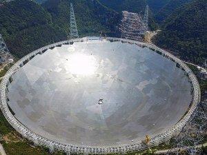 Çin dünyanın en büyük radyo teleskobunu faaliyete geçirdi