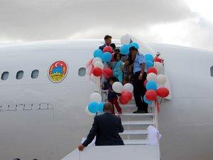 Uçak kütüphane hizmete açıldı