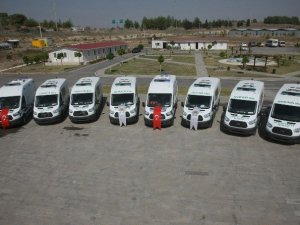 Adana Büyükşehir Belediyesi'nin hizmet aracı filosu güçleniyor